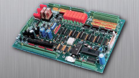 riadiaca elektronika treva